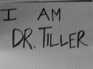 Stock Dr Tiller photo